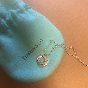 Tiffany & Co. Jewelry - 18K wt Diamond Atlas pendant